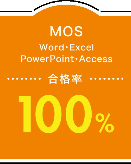MOS 合格率100%
